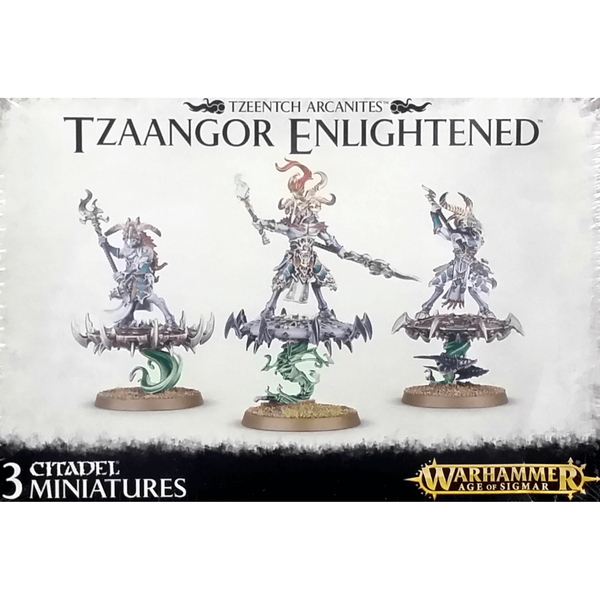 Warhammer AOS Tzeentch Arcanites Tzaangor Enlightened