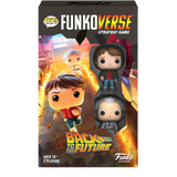POP! Funkoverse Back to the Future Marty McFly and Doc Brown Vinyl Figures