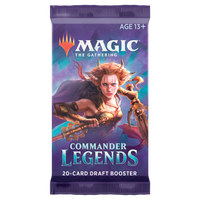MTG Commander Legends Draft Booster Pack