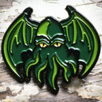 Creature Curation Enamel Pin: Cthulhu