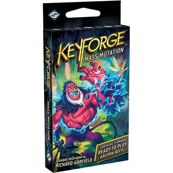 Keyforge Set 4 Mass Mutation 12 Deck Display