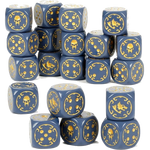 Warhammer 40K Dice Set Space Wolves