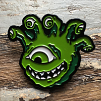 Pin: Creature Curation: Eyegor (Green)