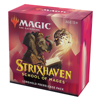 "MTG Strixhaven Lorehold (Red/White) Prerelease ""at home"""