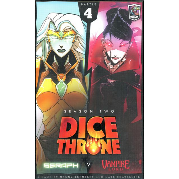 Dice Throne Season 2 - Seraph vs. Vampire Lord