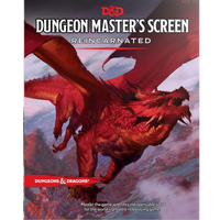 DND 5E Dungeon Masters Screen Reincarnated