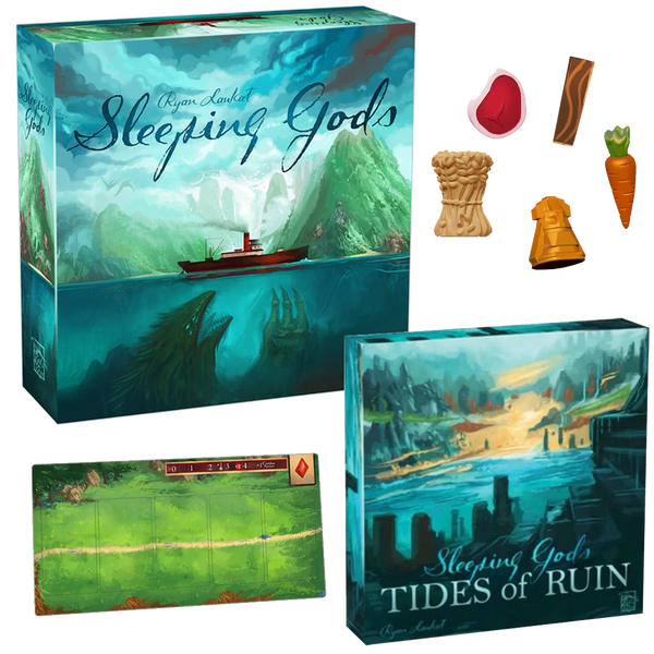 Sleeping Gods Kickstarter Edition and Tides of Ruin Expansion