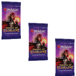 MTG Throne of Eldraine 3x Draft Booster Packs