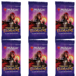 MTG Throne of Eldraine 6x Draft Booster Packs