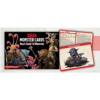 DND 5E Monster Cards Volo`s Guide to Monsters