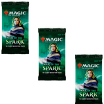 MTG War of the Spark 3x Draft Booster Packs