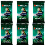 MTG War of the Spark 6x Draft Booster Packs