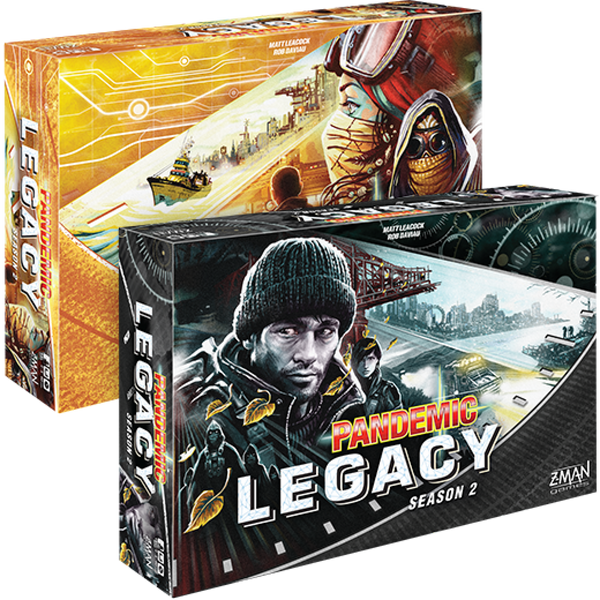 Pandemic Legacy Season 2 Yellow