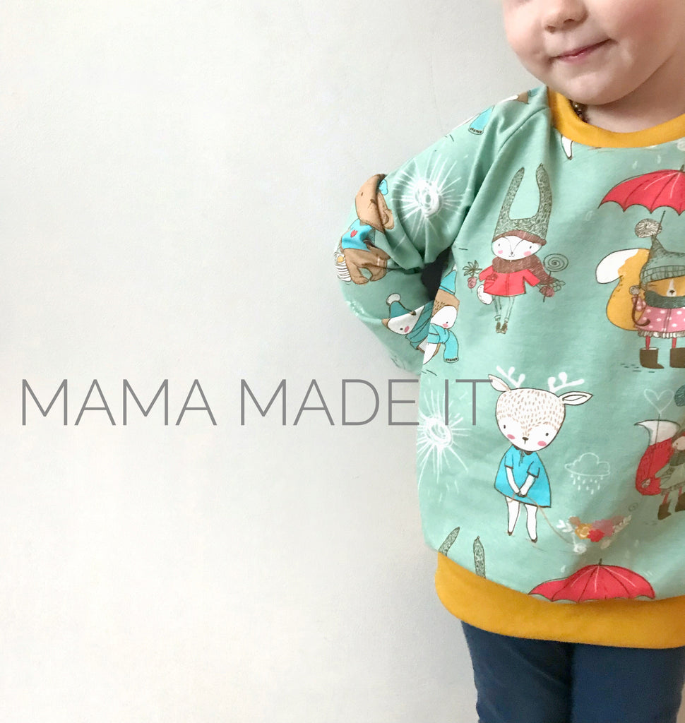 Handmade Raglan Top Choose Your Fabric