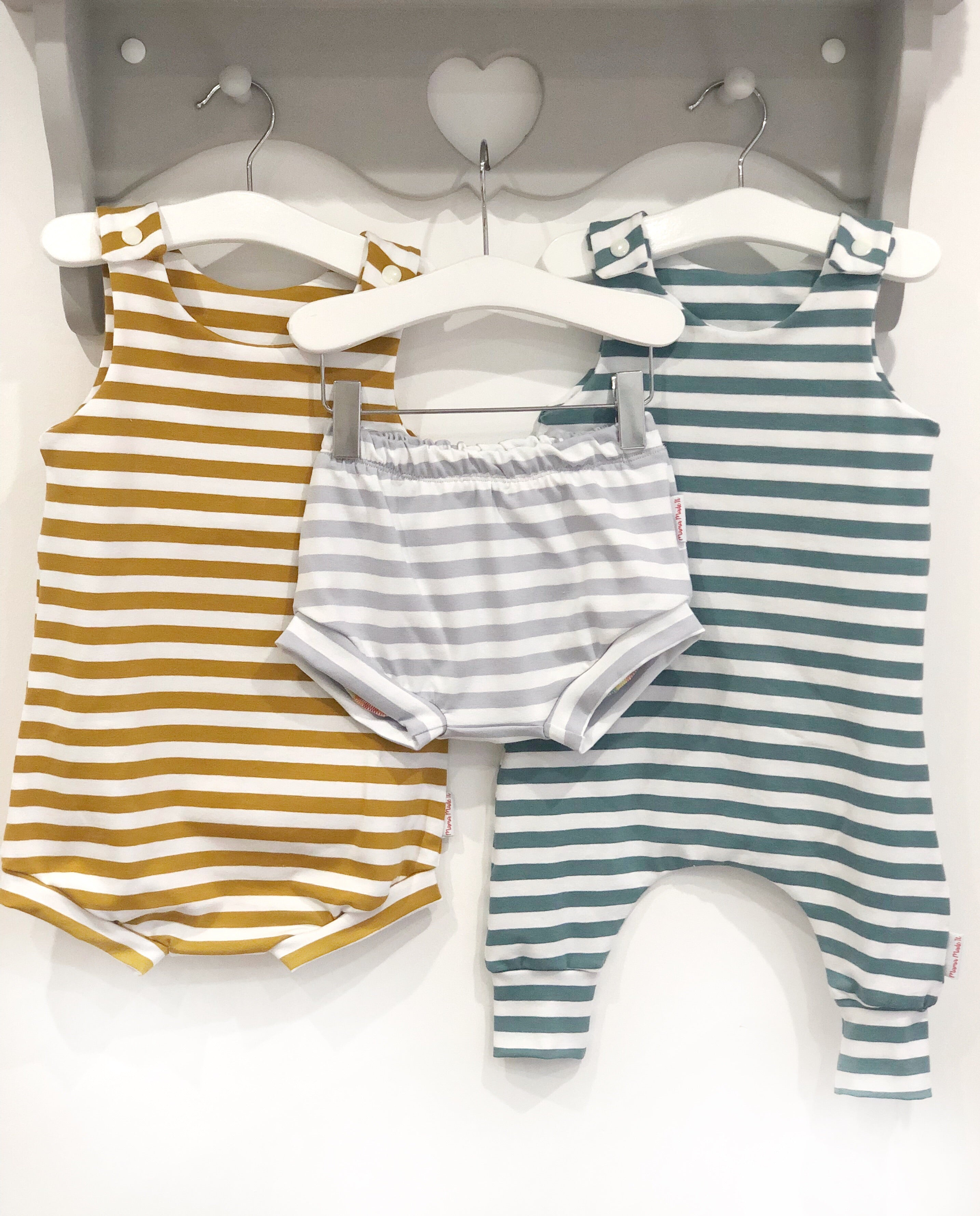 Basics Bummie Romper Choose Your Fabric