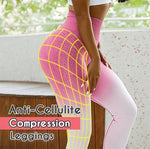 Multicolor Anti-Cellulite Compression Leggings