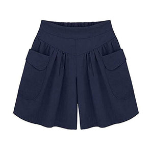 Loose Soft Anti-chafing Pocket Culottes