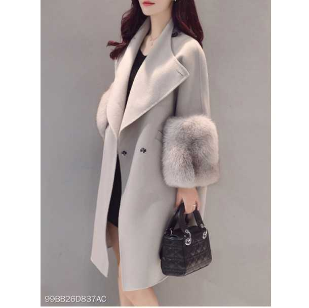 Fashion Winter Women Woolen Jacket