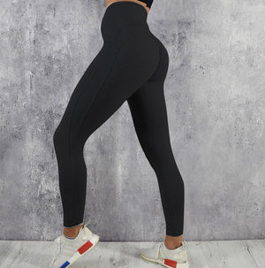 New Women Slim Hip Lifting Yoga Sports Pants