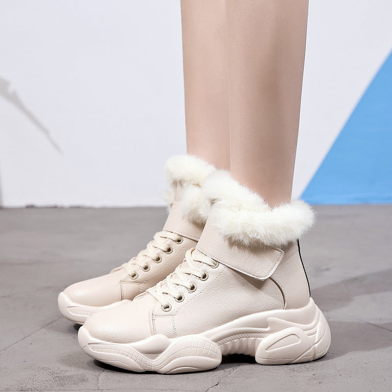 New Woman Fashion Warm Sports Boots
