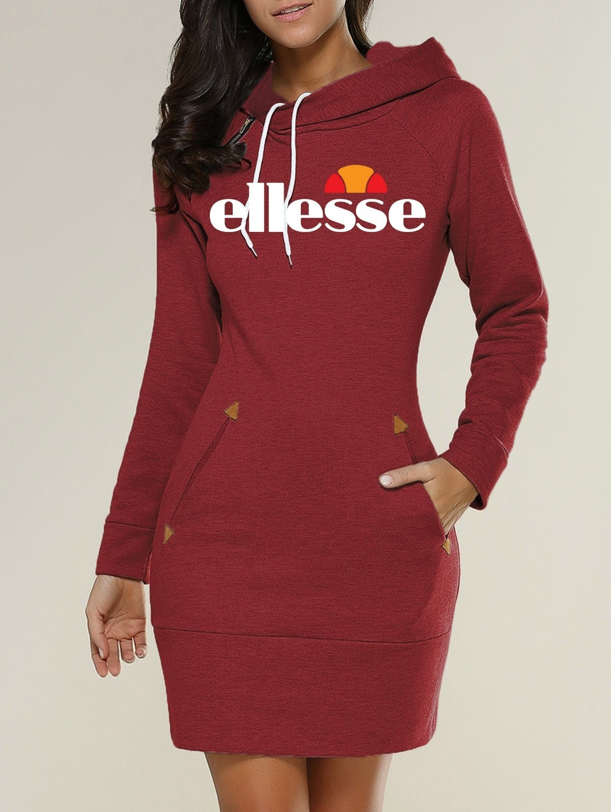 Ellesse Hooded Long Sleeve Women Sweater