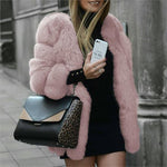Chic Warm and  Cute Fur Coats