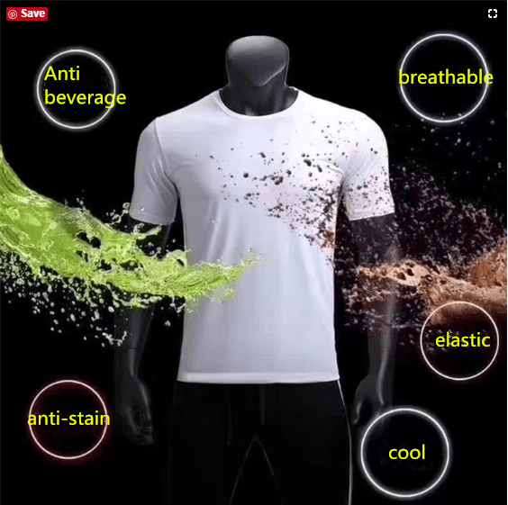 yoyoyoyoga Tops White / S Quick-drying breathable anti-fouling waterproof sports t-shirts for men and women