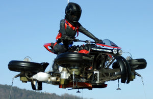 Lazareth launches a motorbike to new heights