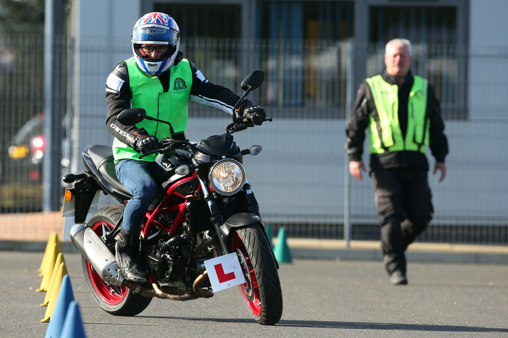 Bradley Ray one step closer to motorcycle licence with Module One pass