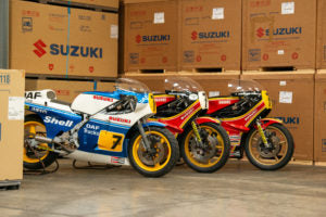 Suzuki to restore more Sheene bikes