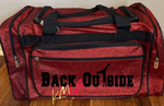 BACK OUTSIDE   (Luggage Bag)