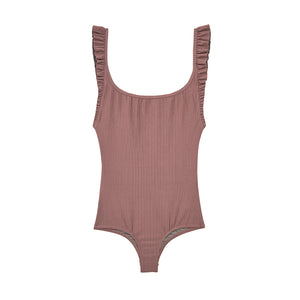 Petal 2 One Piece | Mauve Rib