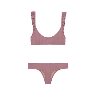 Petal 2 Bottom | Purple Haze Rib