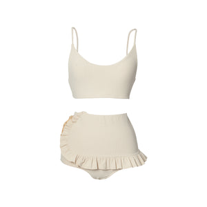 Swoop Top | Blonde Rib