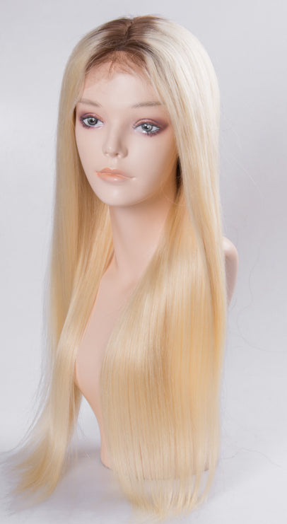 #4/Russian Blonde Full Lace Wig