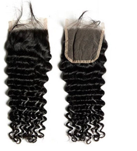 Lucy Wave Lace Closure (4*4)- Diamond Collection Sale