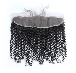 Brazilian Curly Lace Frontal (13*4)- Diamond Collection