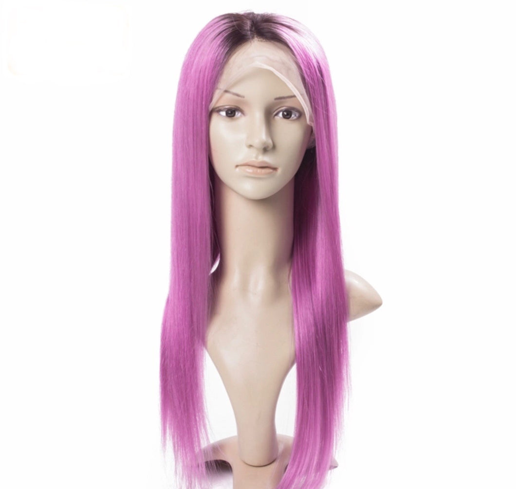 1b/Purple Full Lace Wig