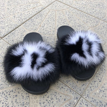 Load image into Gallery viewer, Chelsea Chick Fur Sandals