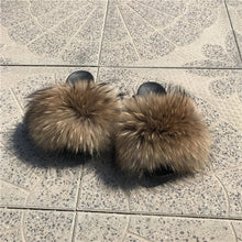 Load image into Gallery viewer, Malibu Fur Sandals