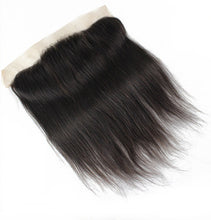 Load image into Gallery viewer, Brazilian Straight Lace Frontal (13*4)- Diamond Collection