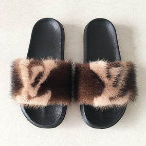 Lovely Vixen Fur Sandals