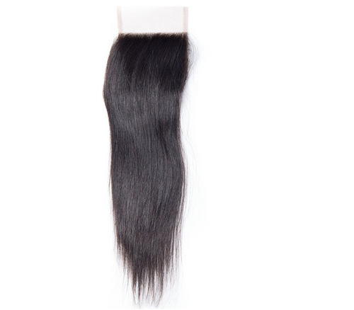 Brazilian Straight Lace Closure (4*4)- Platinum Collection