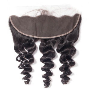 Indian Wavy Lace Frontal (13*4)- Platinum Collection Sale