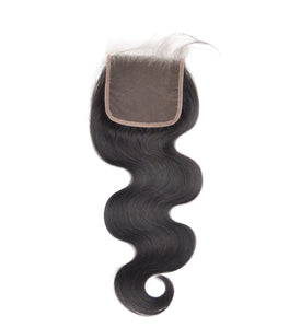 Indian Body Wave Lace Closure (4*4)