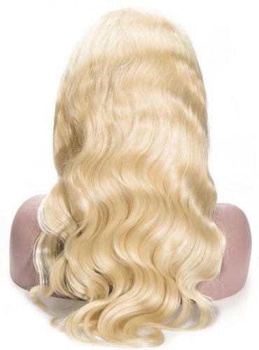 Russian Blonde Body Wave Full Lace Wig