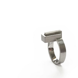 Rectangle ring with cement