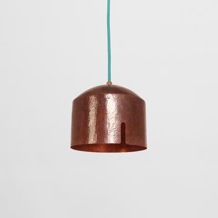 HAMMERD COPPER LAMP - B