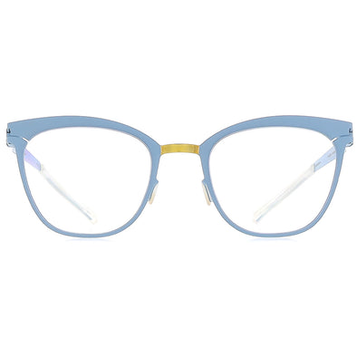 Mykita Decades Virna 236 Gold Blue-grey