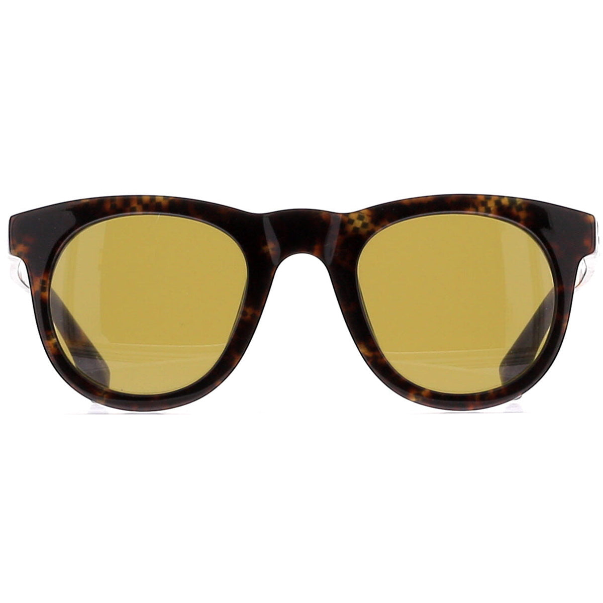 Dries Van Noten DVN133 C4 Sun Tortoiseshell Marble/ Brass/ Dark Brown